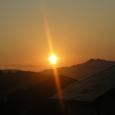 10月28日の朝陽