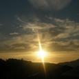 10月10日の朝焼け